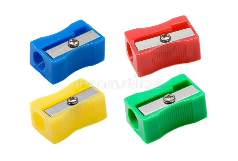 Photo of pencil stock. Sharpener clipart four clipart black and white