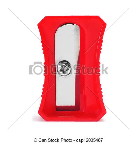 Sharpener clipart red. Closeup of a pencil vector freeuse library