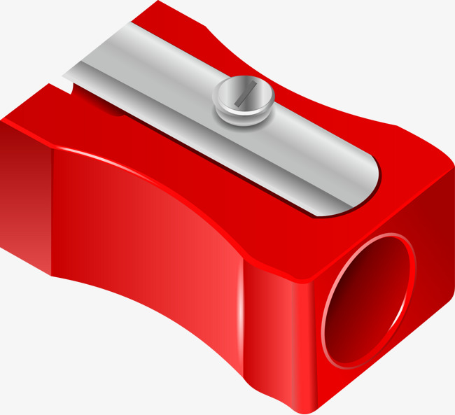 Sharpener clipart red. Vector pencil free download clip download