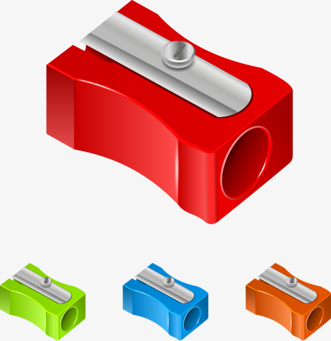 Sharpener clipart red. Vector pencil free download