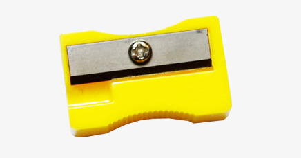 Sharpener clipart yellow. Pencil hand painted png