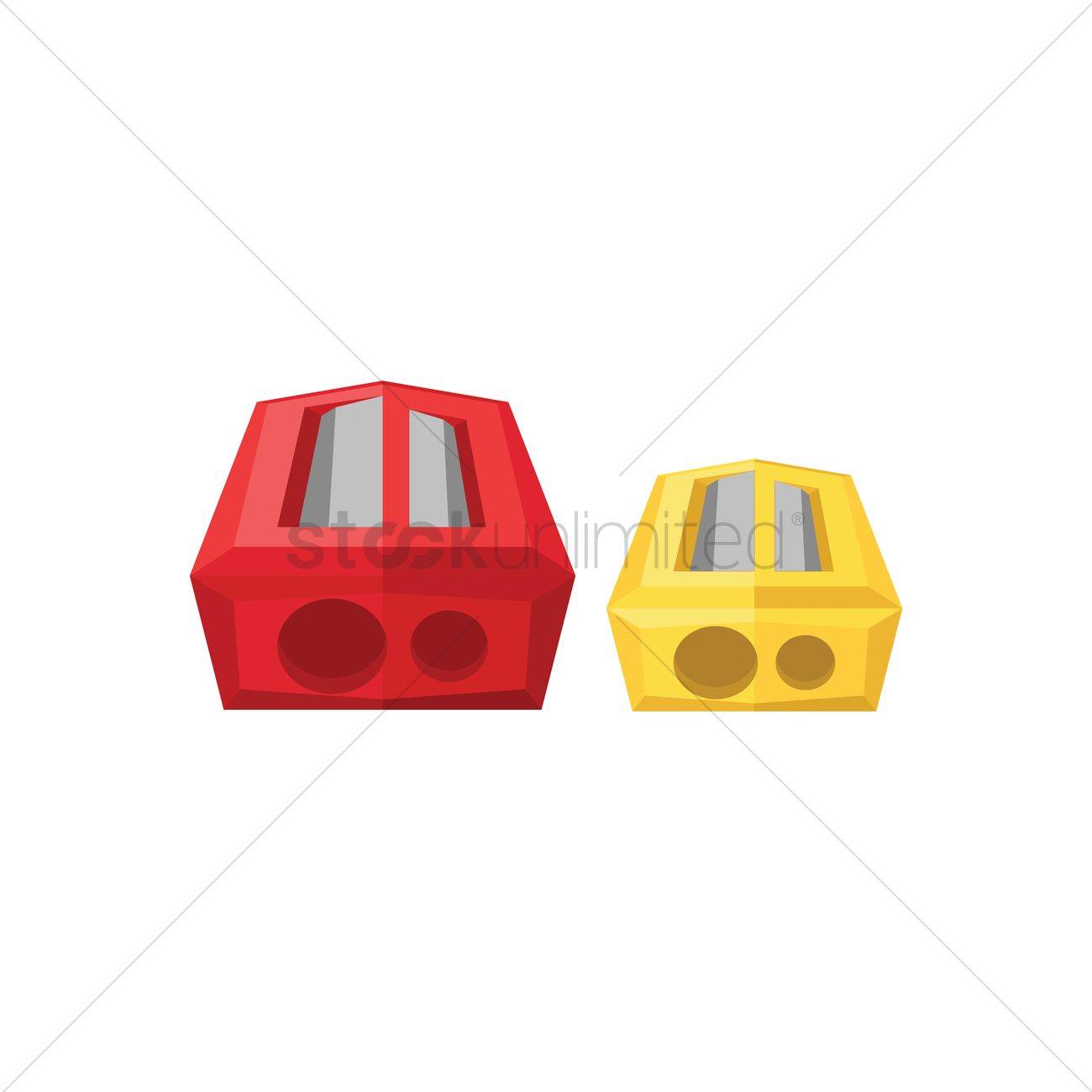 Pencil vector image stockunlimited. Sharpener clipart yellow banner royalty free