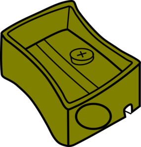 Sharpener clipart yellow