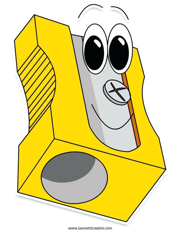 Sharpener clipart yellow. Pencil clip art school