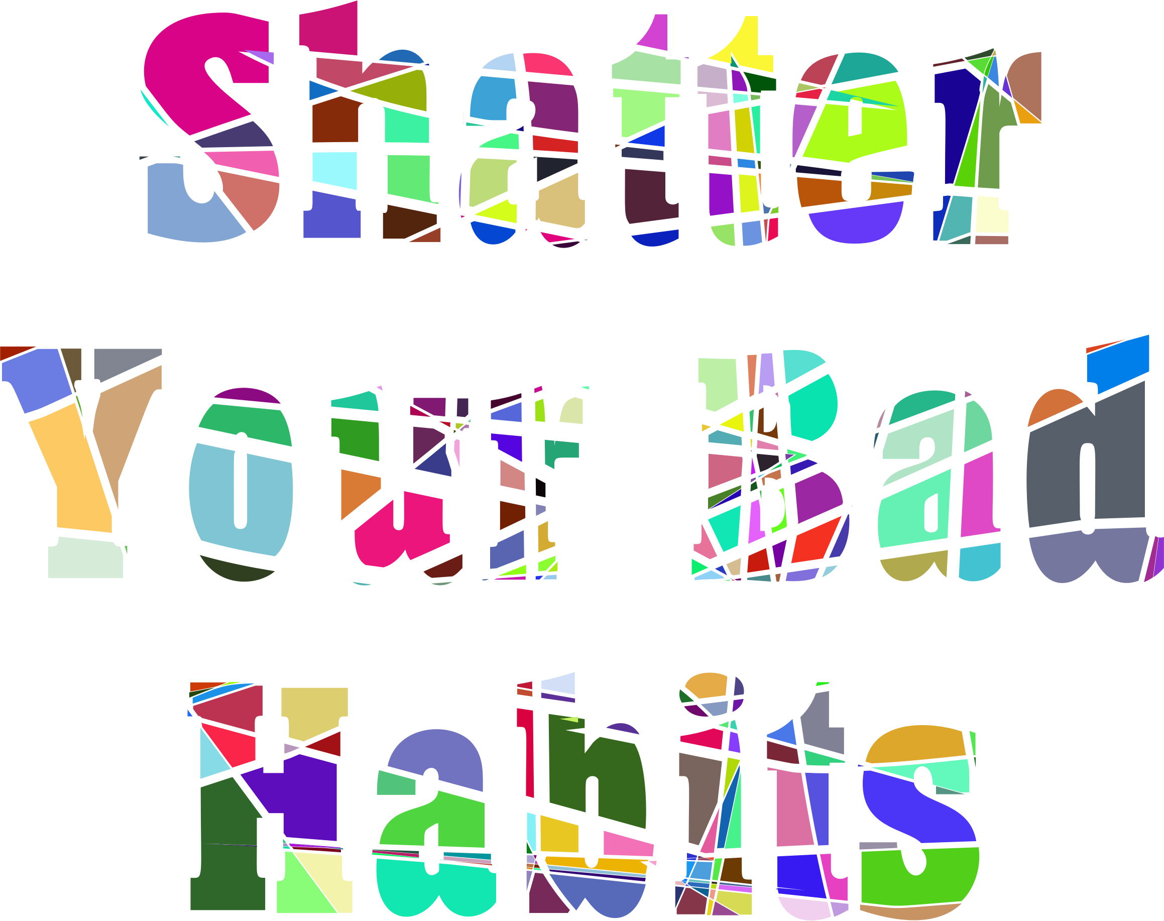 Shatter vector clipart. Prismatic icons png free