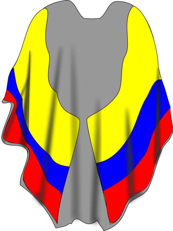 poncho drawing cape