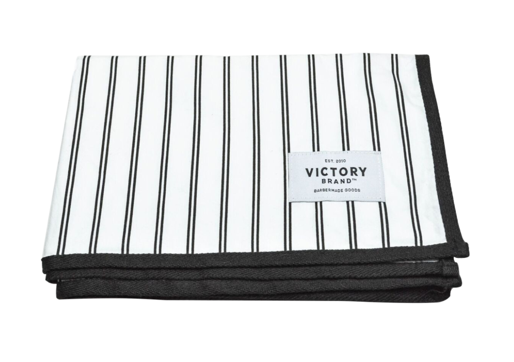 Barber clip cape. Vintage cutting victory brand