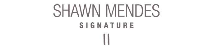Shawn mendes signature png. Perfume boots discover the