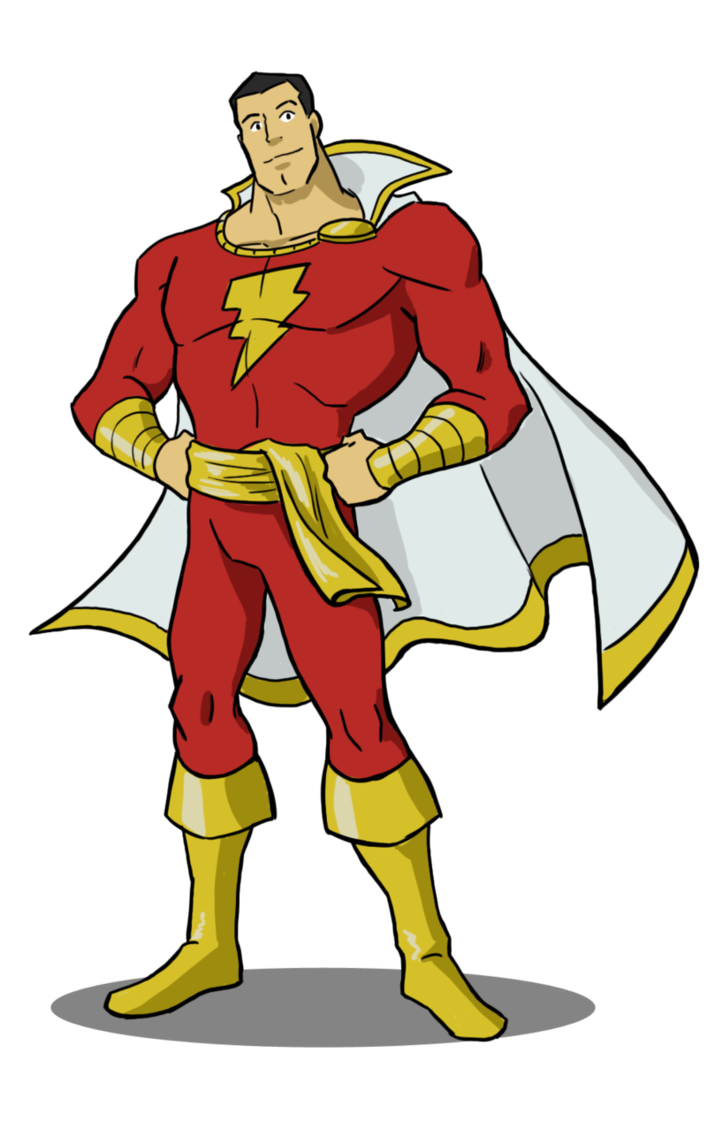 By kolidescope on deviantart. Shazam drawing captain marvel jpg free library