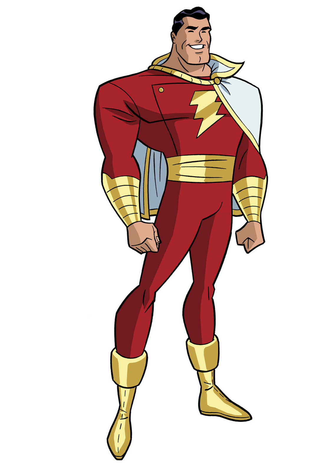 Justice league unlimited pinterest. Shazam drawing captain marvel png library library