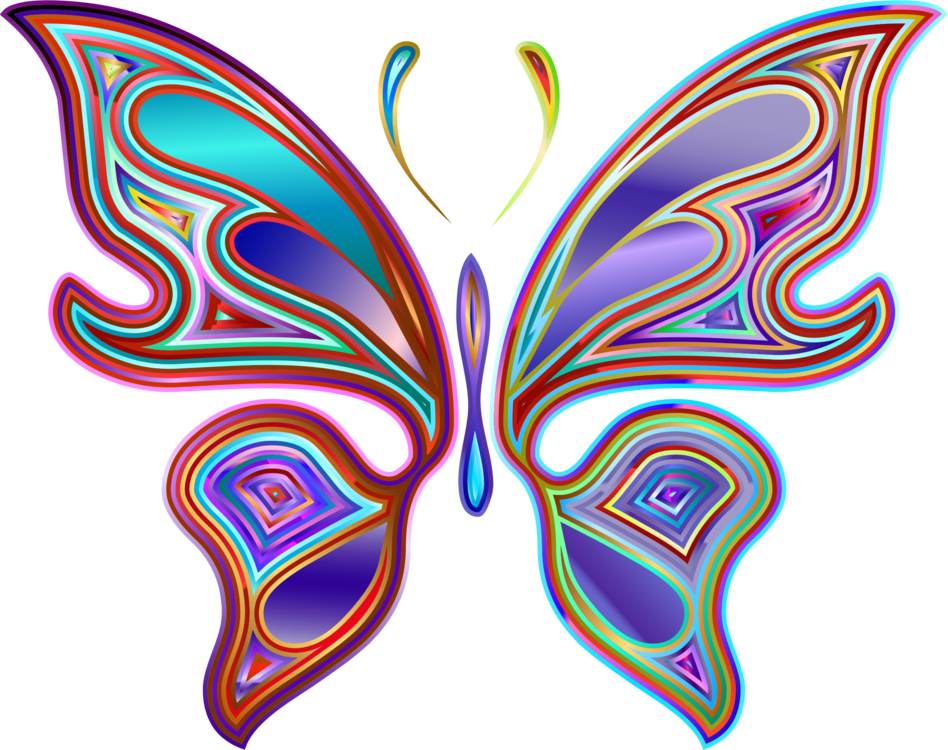 Butterfly computer icons free. Arts drawing color clip art freeuse download