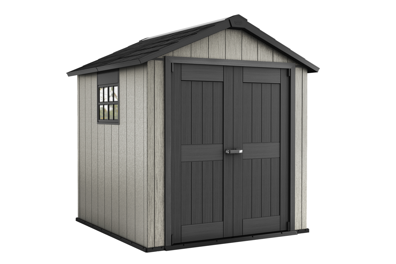 Shed drawing outhouse. Oakland outdoor storage keter