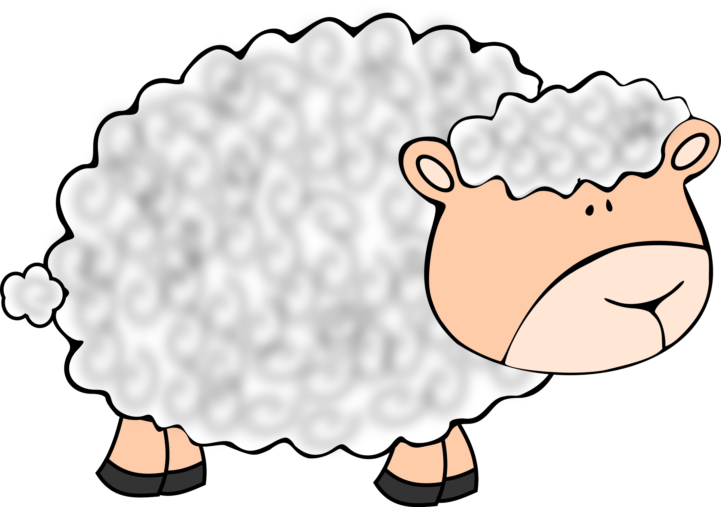 Sheep cartoon png. Funny icons free and