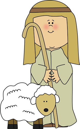 Sheep clipart three. Shepherd with clip art