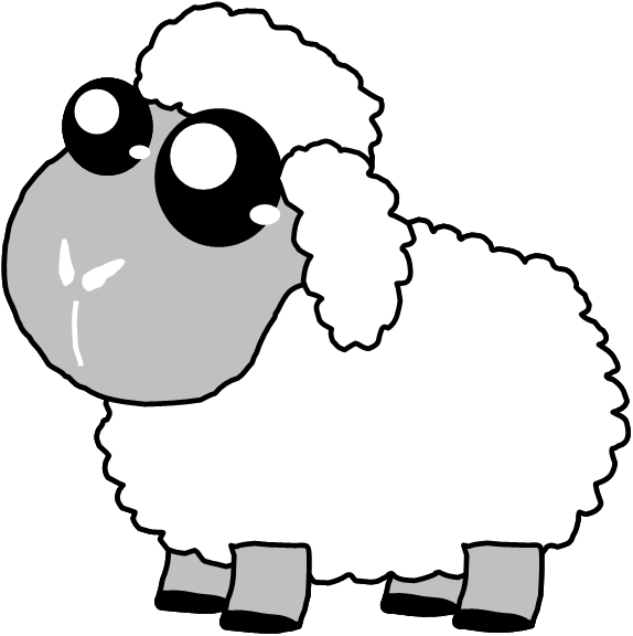 Sheep clipart three. Free cute pictures download