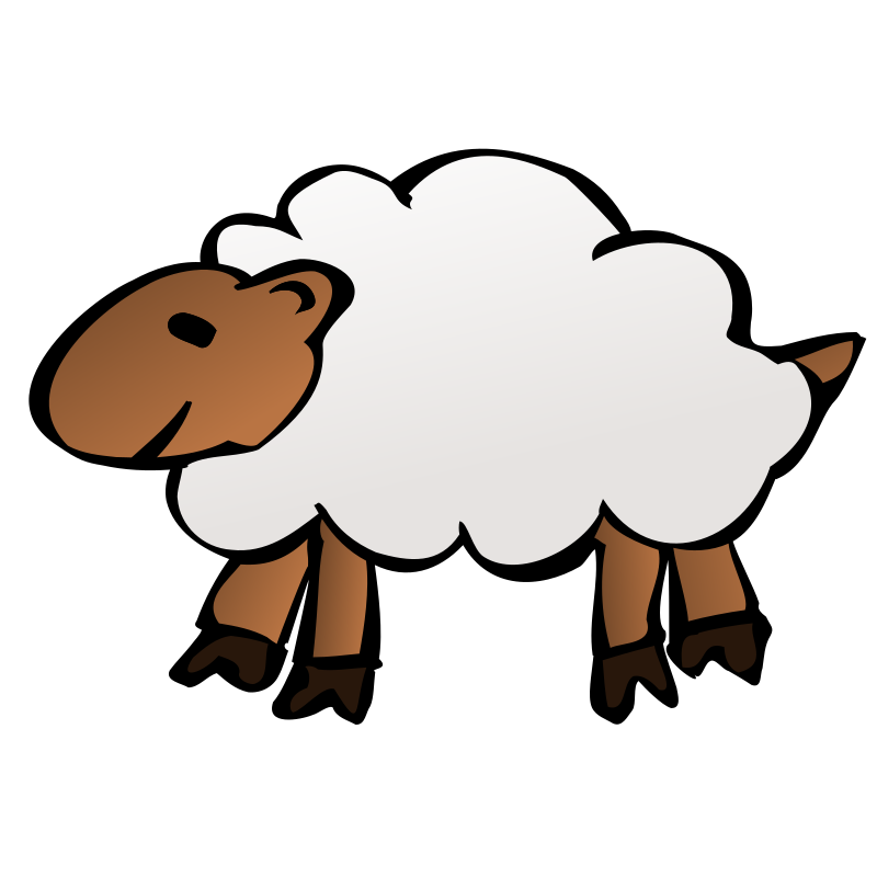 Sheep clipart transparent background. Medium image png