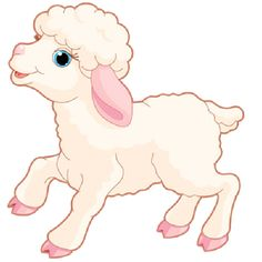 Sheep clipart transparent background. Pinterest cartoon clip