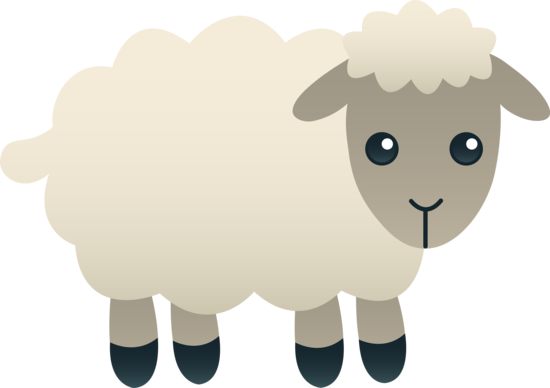 Drawing quartering cartoon. Free sheep clipart
