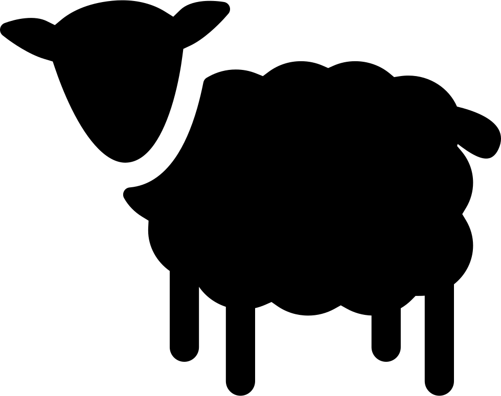 Sheep silhouette png. Svg icon free download