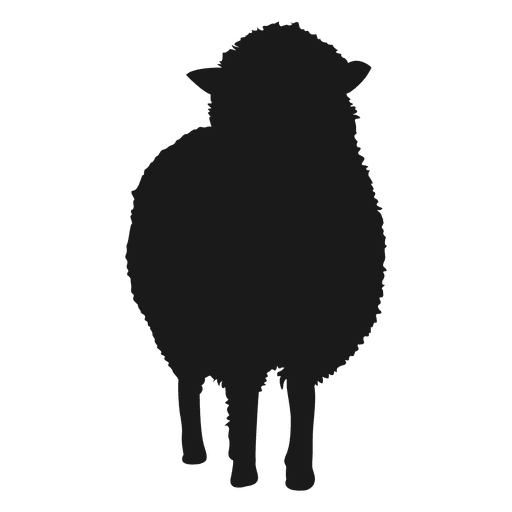 Sheep silhouette png