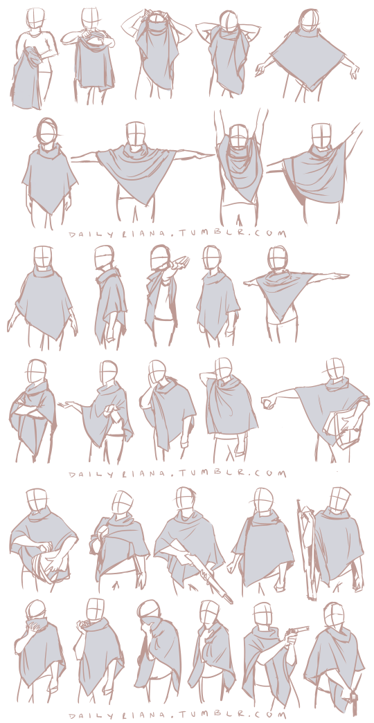 Sheet clipart folded cloth. Diferent poses dibujo by