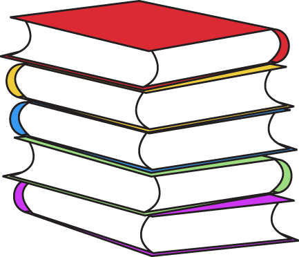 Stack clipart pile book. Free of books download