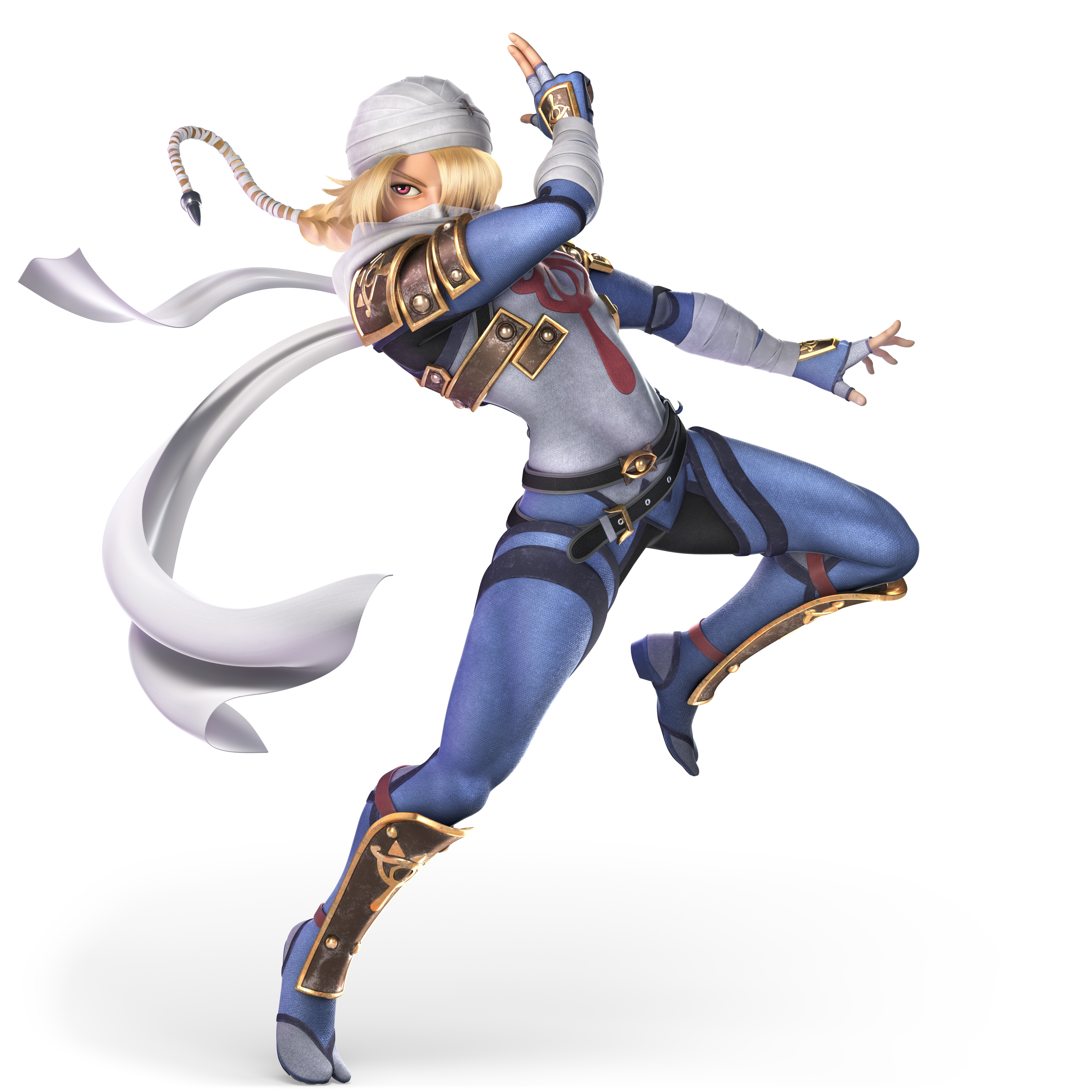 transparent zelda ssb4