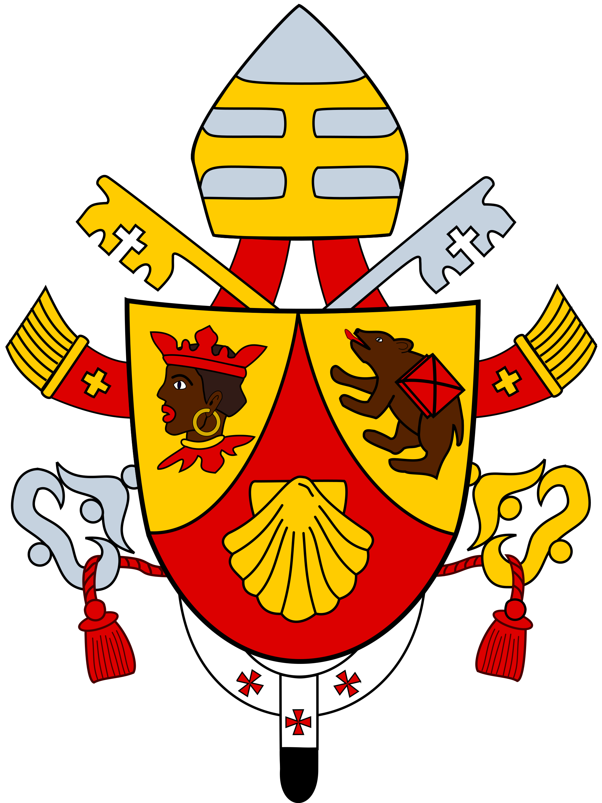 Coat of arms banner png. Pope benedict xvi wikipedia