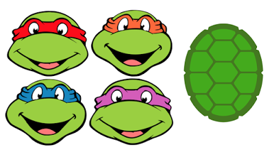 shell clipart teenage mutant ninja turtles