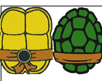Shell clipart teenage mutant ninja turtles. Turtle template free