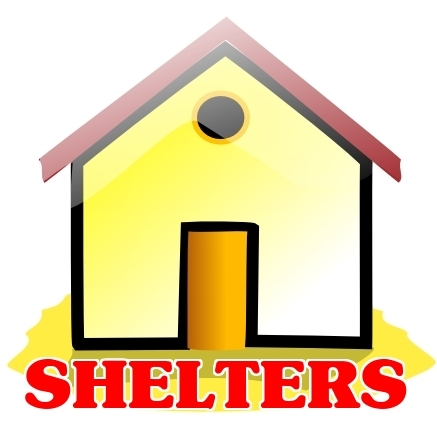 Homeless . Shelter clipart svg free stock