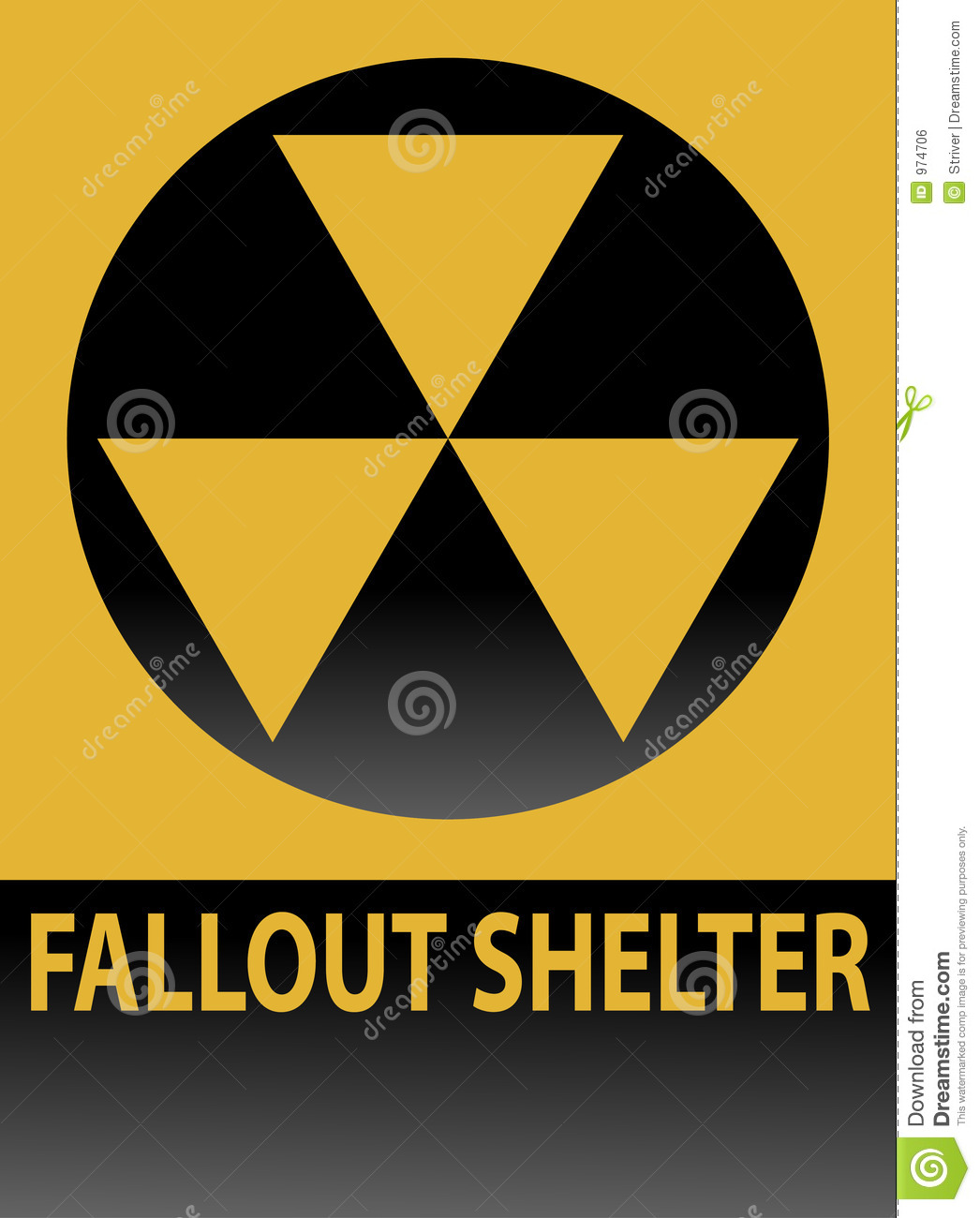 Shelter clipart fallout shelter. Sign panda free images