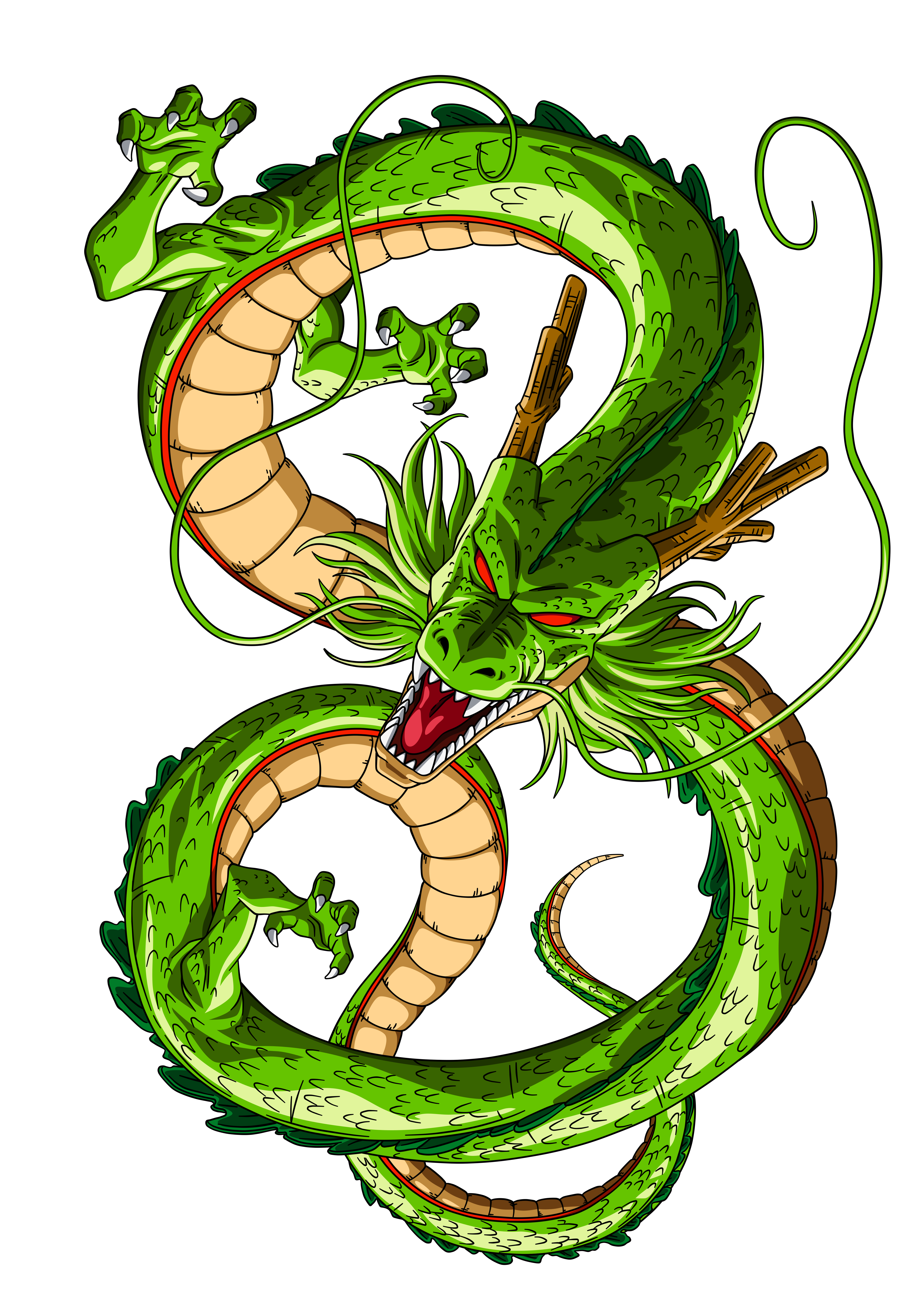 Shenron transparent. By orco on deviantart