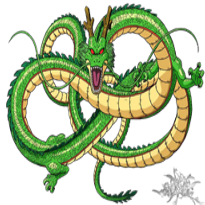 Roblox . Shenron transparent svg free stock