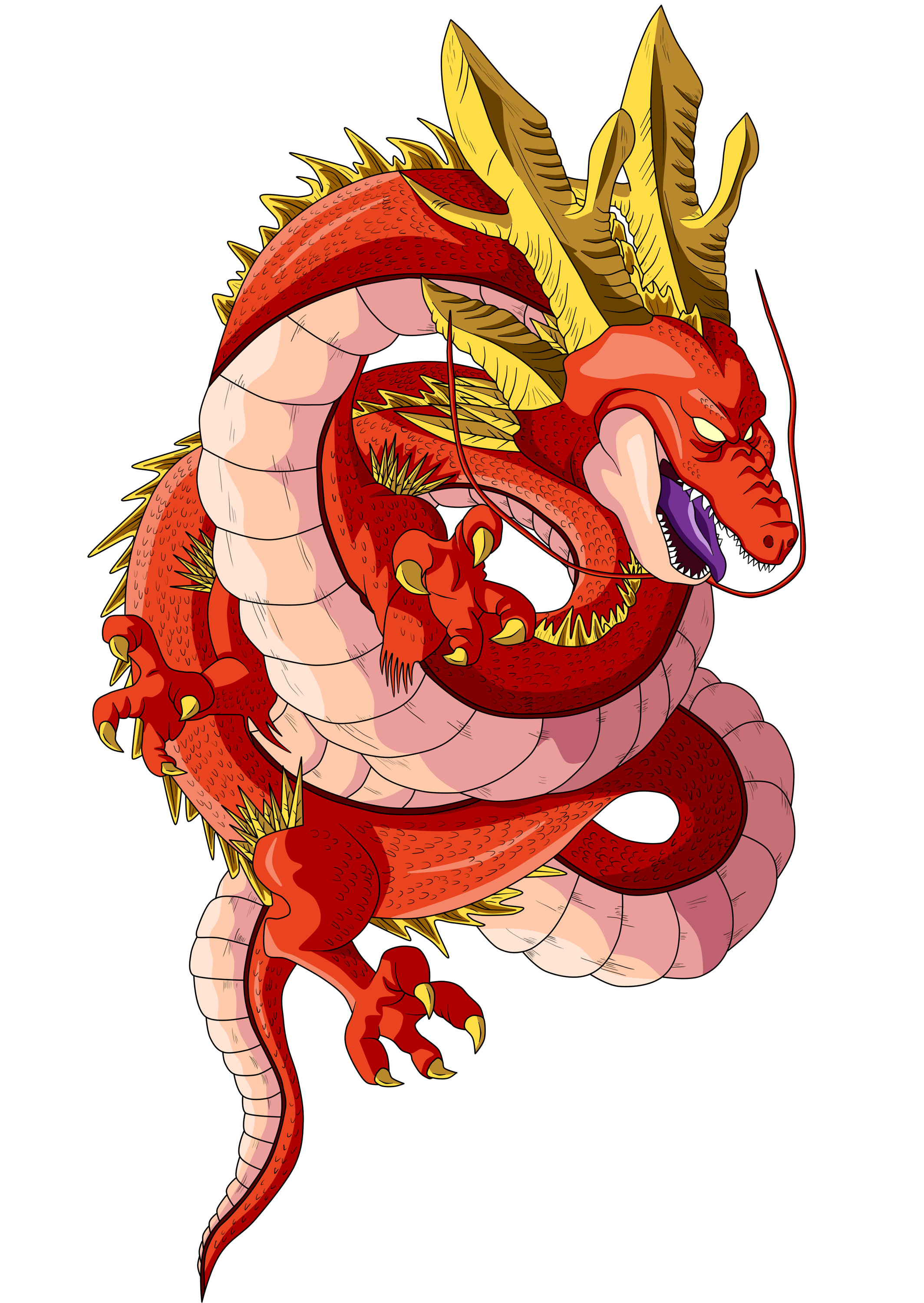Shenron transparent black star. By originalsupersaiyan on deviantart