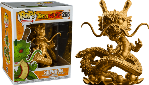 Shenron transparent golden. Dragon ball z gold