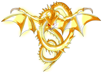 Shenron transparent red. Dragon ball super characters