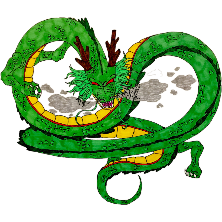 The eternal dragon by. Shenron transparent banner free stock