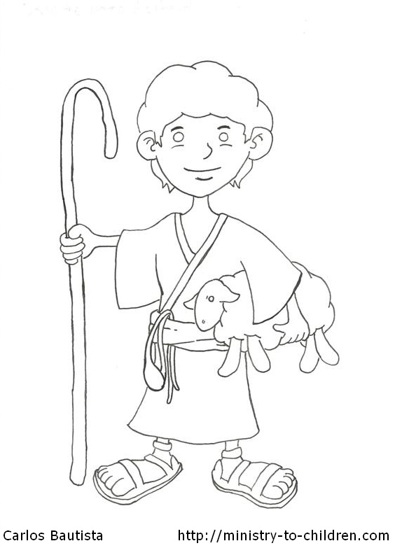 Christmas Shepherds Coloring Pages - GetColoringPages.com | 783x564