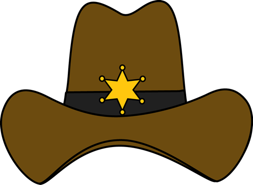 hats drawing cow boy