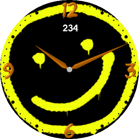 Sherlock smiley face png. Android wear watch by