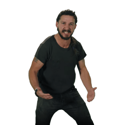 Shia labeouf face png. Transparent images pluspng angry