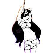 Shibari drawing. By mistyredcherry spreadshirt
