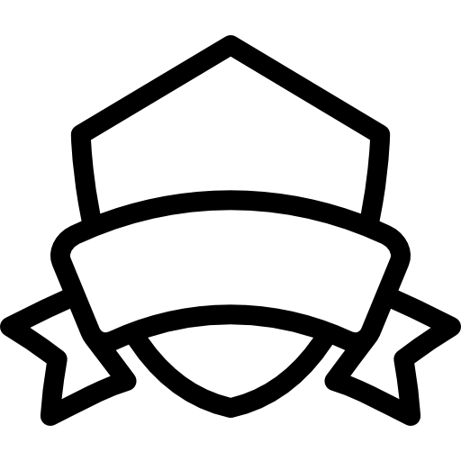 Shield and banner png. With free signs icons