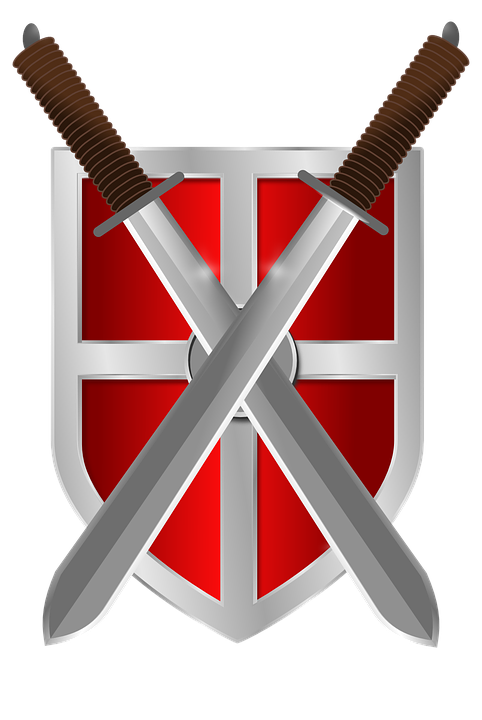 Shield and swords png. Wallpaper download knight medieval