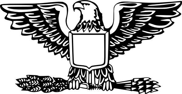 Shield clipart eagle. With