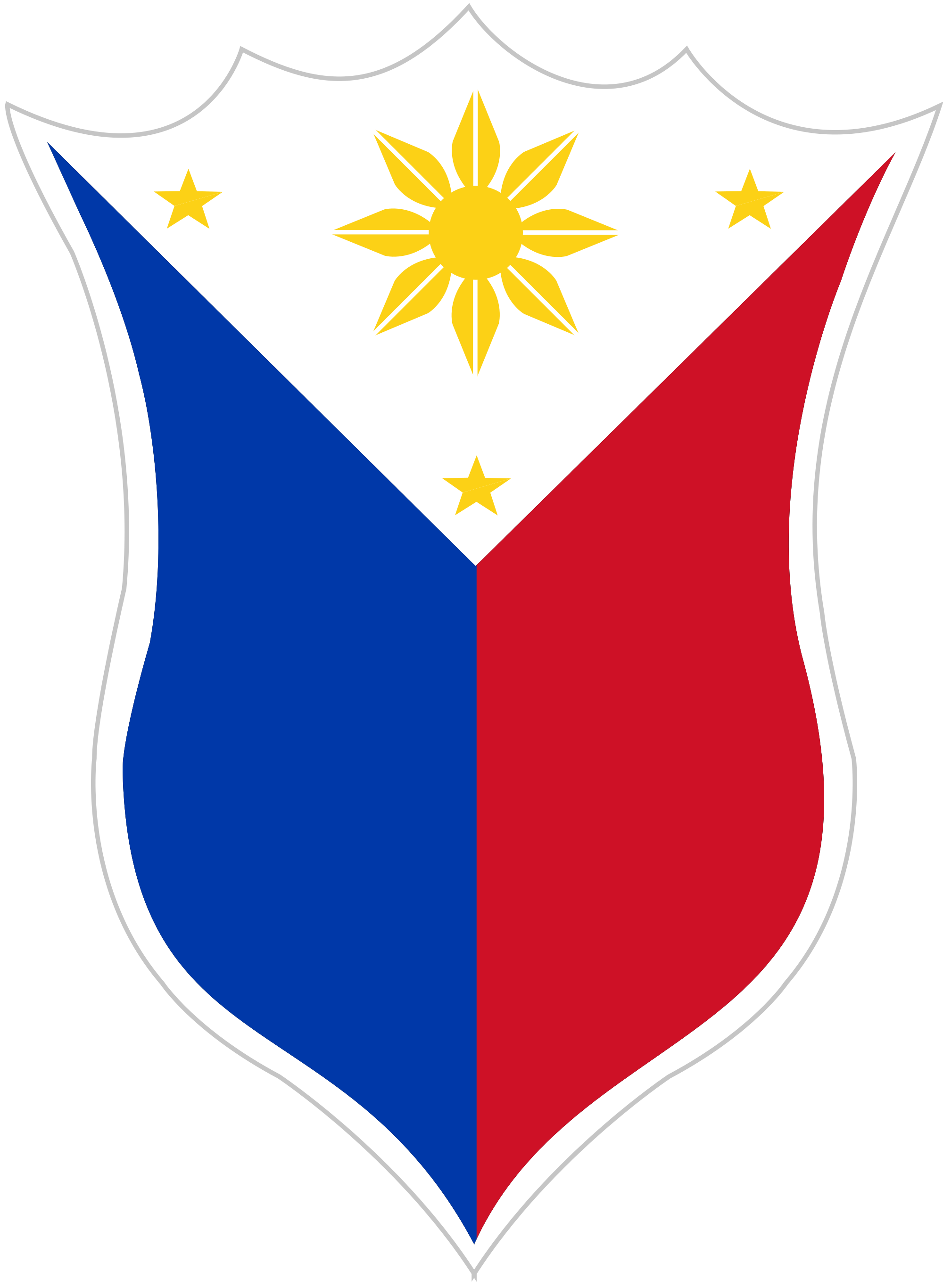 Shield clipart flag. Philippine png hd free