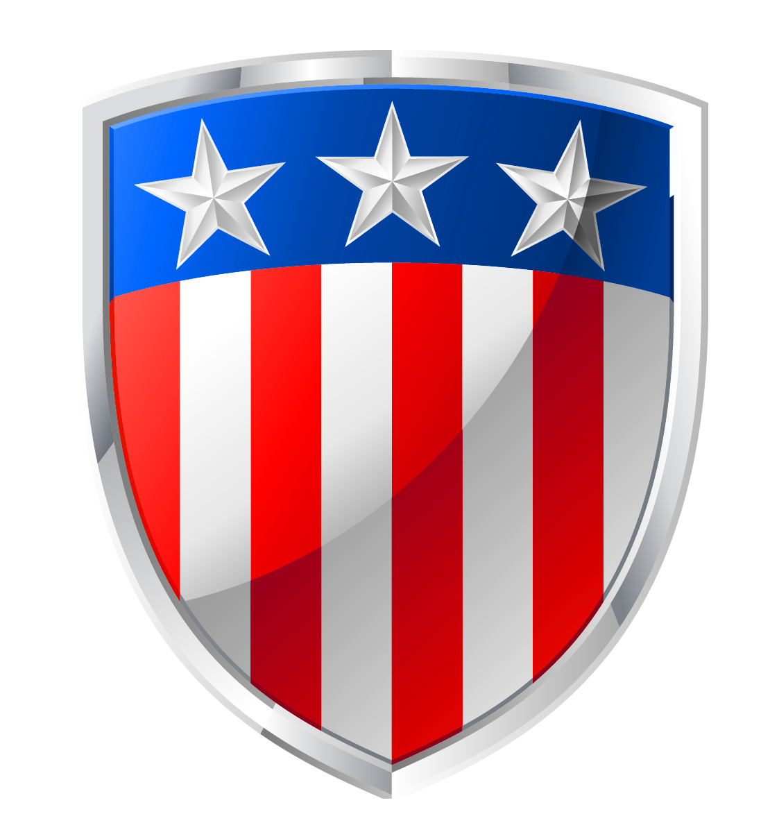 Shield clipart flag. American badge decor png
