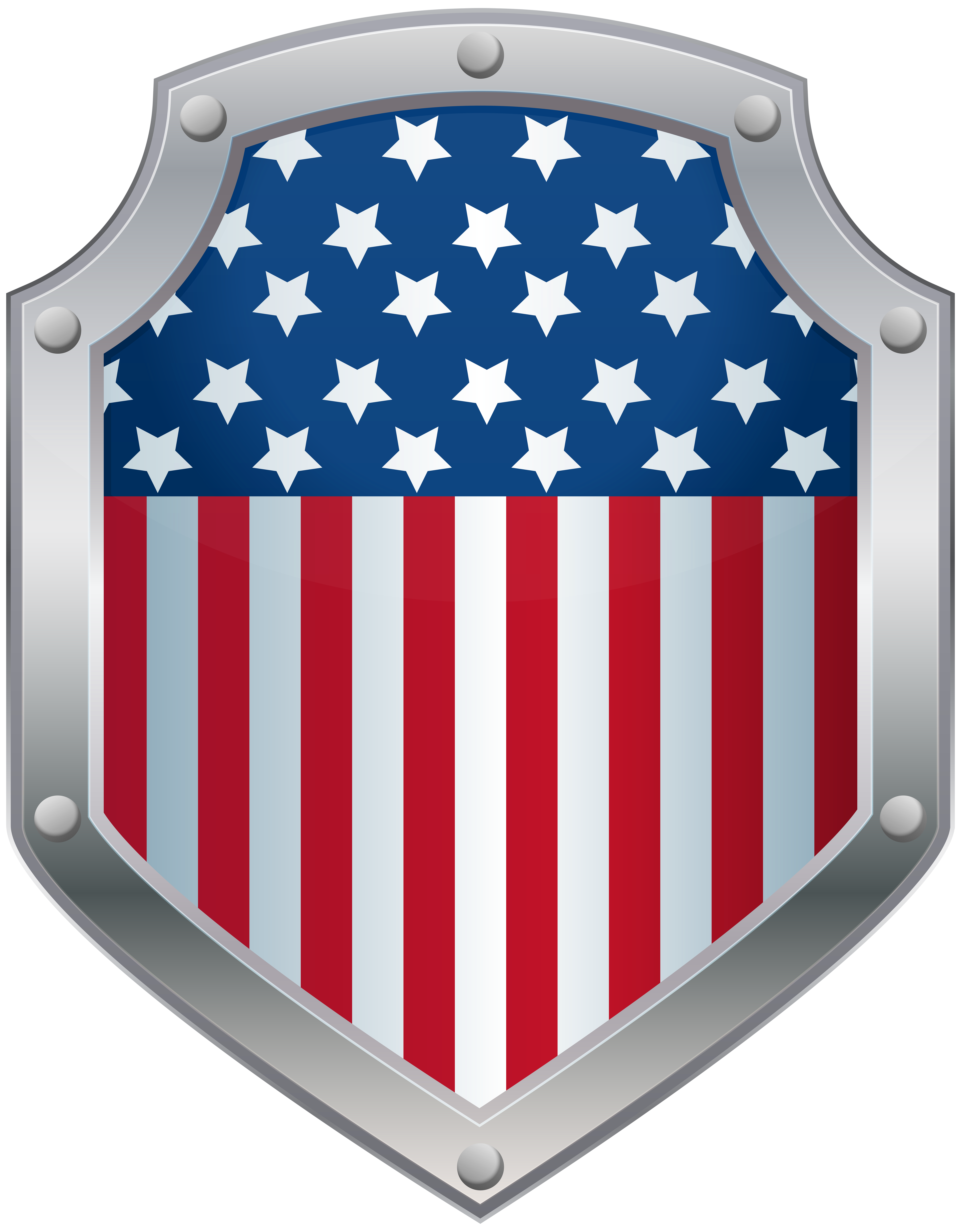 Shield clipart flag. American badge png clip