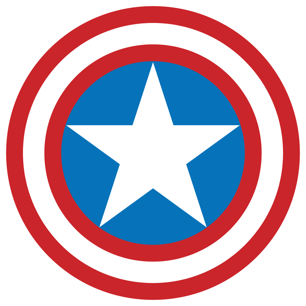 Superhero shield png